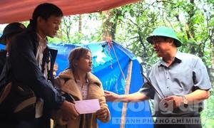 Báo Công an TPHCM chia sẻ, hỗ trợ các nạn nhân vụ sạt lở ở Nam Trà My