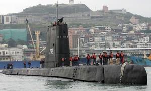 Đài Loan tự đóng tàu ngầm nội địa đầu tiên