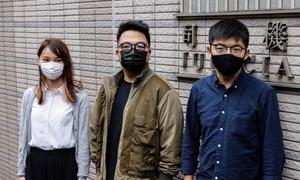Hoàng Chi Phong bị chính quyền Hong Kong bắt giữ