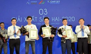 TPHCM: Trao giải cuộc thi Đổi mới sáng tạo ứng dụng trí tuệ nhân tạo