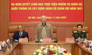 Tổng Bí thư, Chủ tịch nước chủ trì Hội nghị của Quân ủy Trung ương