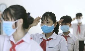 Sở GD-ĐT TPHCM yêu cầu học sinh đeo khẩu trang theo quy định