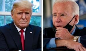 Hai bang Wisconsin, Arizona tuyên bố ông Biden thắng