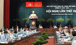 Khai mạc Hội nghị lần thứ 2 Ban Chấp hành Đảng bộ TPHCM khóa XI