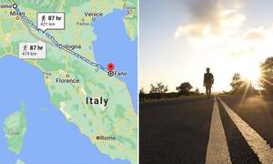 Bị bắt vì đi bộ 400km bất chấp lệnh giới nghiêm chống Covid-19