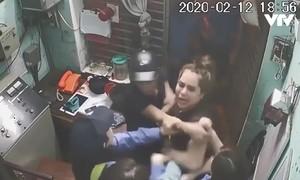 Đôi nam nữ vi phạm còn hành hung phóng viên VTV