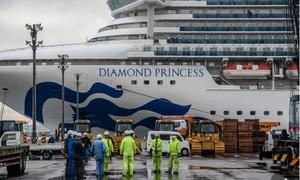 Số người nhiễm bệnh trên du thuyền Diamond Princess tăng đến 355