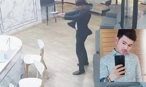 Trung tâm thương mại Thái Lan hỗn loạn vì vụ dùng súng trả thù tình