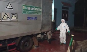Phát hiện 620kg khẩu trang đã qua sử dụng cất giữ tại một ngôi nhà ở Hà Nội