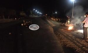 Bốn thanh niên thương vong khi 2 xe máy đối đầu