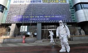 Số người nhiễm SARS-CoV-2 tại Hàn Quốc tăng vọt lên hơn 2.000