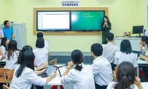 Sở GD-ĐT TPHCM đẩy mạnh thí điểm trường học thông minh