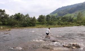 Ba người tử vong khi chèo thuyền ở hồ thủy điện