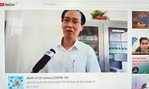 """Cắt ghép hình ảnh lãnh đạo TPHCM để làm clip xuyên tạc """"có 1.000 người tử vong"""""""