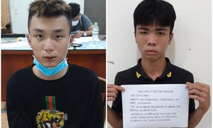Bắt 2 tên cướp giật tuổi teen mê game online ở Sài Gòn