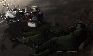 Hai cán bộ chiến sĩ Công an Đà Nẵng hy sinh khi truy bắt nhóm đua xe cướp giật
