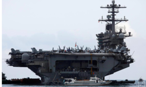 Mỹ cách ly 1000 thuỷ thủ tàu sân bay Theodore Roosevelt vì nCoV