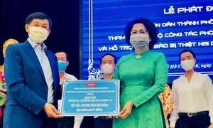 TPHCM: Hơn 81 tỷ đồng ủng hộ phòng chống dịch và đồng bào hạn, mặn
