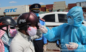 TPHCM triển khai kiểm tra y tế tại các cửa ngõ, nơi đông đúc