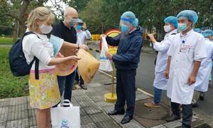 Thừa Thiên – Huế: Hai bệnh nhân mắc Covid-19 cuối cùng xuất viện