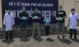 TPHCM: Thêm 8 bệnh nhân Covid-19 khỏi bệnh, xuất viện