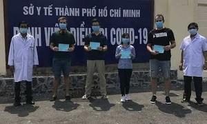 TPHCM: Thêm 9 bệnh nhân Covid-19 khỏi bệnh, xuất viện