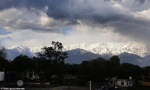 Sau 30 năm mới thấy được dãy Himalaya từ rất xa nhờ Covid-19