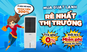 Giải nhiệt mùa hè với quạt lạnh Ấn Độ giá tiết kiệm nhất
