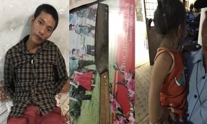 Nghẹt thở giải cứu bé gái 3 tuổi bị tên cướp dùng dao khống chế chở đi