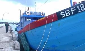 Tàu cá vi phạm vùng biển nước ngoài bị phạt hơn 900 triệu đồng
