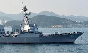 Tàu chiến Mỹ đến Hoàng Sa nhằm thực thi quyền tự do hàng hải