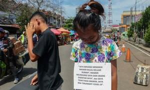 Indonesia đăng ảnh người vi phạm lệnh giãn cách lên mạng xã hội