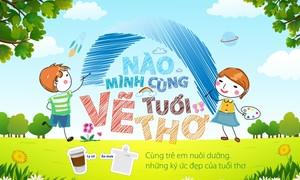 """Ngân hàng Bản Việt triển khai chương trình """"Nào mình cùng vẽ tuổi thơ"""""""