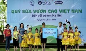 Hơn 1.300 trẻ em Hà Nội được chăm sóc dinh dưỡng từ Vinamilk