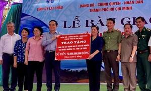 TPHCM hỗ trợ 50 tỷ đồng xây nhà cho hộ nghèo tại huyện Mường Tè
