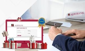 Agribank đẩy mạnh ứng dụng công nghệ vào thanh toán các dịch vụ công