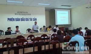 Khu đất vàng 302 tỷ đồng đấu giá tăng hơn 1,1 triệu đồng/m2