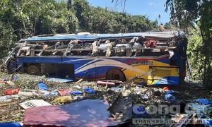 Xe khách chở 40 người lao xuống vực: Các nạn nhân hầu hết quê Thanh Hóa