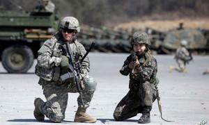 Mỹ - Hàn cân nhắc hủy tập trận vì dịch nCoV