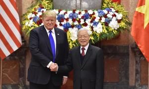 Chúc mừng 25 năm quan hệ ngoại giao Việt Nam - Hoa Kỳ