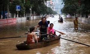 Trung Quốc nâng mức cảnh báo lũ lụt