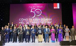 Vietjet vào top 50 DN kinh doanh hiệu quả trên sàn chứng khoán