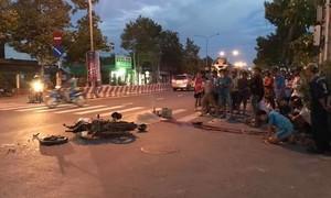 Xe bồn tông xe máy, 1 người tử vong tại chỗ