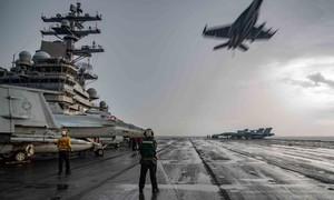 Thấy gì qua việc Mỹ điều 2 tàu sân bay tập trận trên Biển Đông?