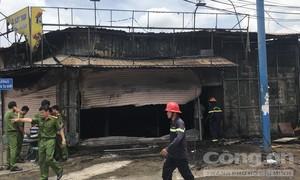 Vụ cháy tiệm cầm đồ 3 người chết: Hai mẹ con nghi bị sát hại