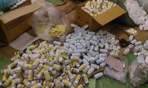 3 anh em ruột sản xuất thuốc tân dược giả ở Sài Gòn