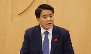 Thủ tướng tạm đình chỉ công tác Chủ tịch UBND TP.Hà Nội Nguyễn Đức Chung