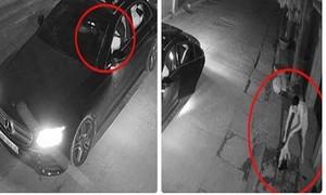 Clip thanh niên đi ôtô tiền tỷ, bắn mèo để trộm