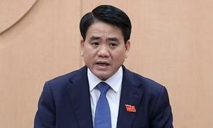 Bộ Chính trị đình chỉ chức vụ Phó Bí thư Hà Nội đối với ông Nguyễn Đức Chung