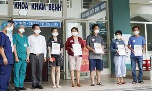 Thêm 5 bệnh nhân Covid-19 tại Đà Nẵng khỏi bệnh, xuất viện